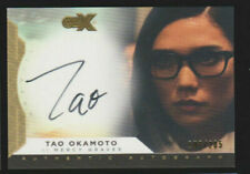 Tao Okamoto Cryptozoic CZX Super Heroes & Villains as Mercy Autograph AU 108/205