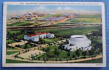 1937 Postcard of Ford Rotunda & River Rouge Plant in Detroit