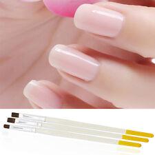 3pcs/set Acrylic Nail Art Salon Pen Tips UV Gel Builder Painting Brushes Kit