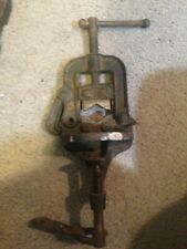 Vintage Erie   Pipe Cutting, Threading Vise Bench Portable