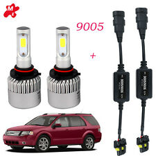 9005 HB3 LED Headlight Bulbs Conversion Kit +Decoder FIT Ford Taurus X 2009-2008