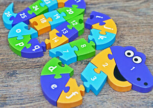 Jake the Snake in a Tin - Letter & Number Fun