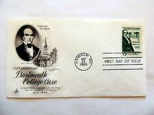 """Sept. 22nd, 1969 150th Anniversary Of """"Dartmouth College Case"""" First Day Issue"""