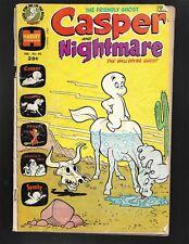 Casper and Nightmare #40 Harvey Comics 1972 POOR