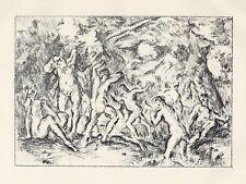 Ker Xavier Roussel original lithograph