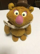 "VINTAGE FISHER PRICE 1976 FOZZIE BEAR MUPPET DOLL 14"" PLUSH"