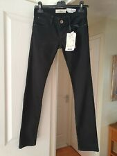 Zara Stradivarius Black Skinny Jeans, Very Low Rise, EUR Size 36, UK Size 8, NWT