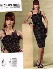 VOGUE American Designer Michael Kors Misses' Dress Pattern V1176 8-14 UNCUT