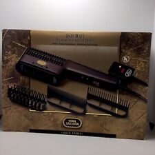 VIDAL SASSOON VS941 1600W Professional Styling Dryer Gold Series 3 Attachments