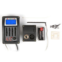 Lindo TOPS-4T 4-Band Equalizer Electro Acoustic Guitar Preamp Piezo Pickup Tuner