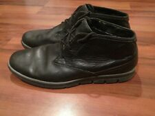 Timberland Earthkeepers 5142A Sensorflex Mens Leather Boots Shoe Black Size 11.5