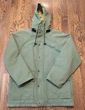 Vintage Orvis Gore Tex Jacket Mens Medium Hunting Fishing Hooded