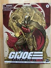 "GI Joe Classified Series 6"" Snake Supreme Cobra Commander"