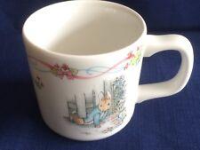 Wedgwood Peter Rabbit christening mug