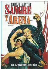 Blood And Sand / Sangre Y Arena DVD NEW Rodolfo Valentino !