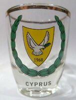 CYPRUS SHOT GLASS SHOTGLASS