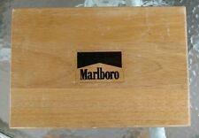 MARLBORO Poker Chip Set in Wood Box Collectible