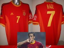 Spain Espana RAUL Shirt Jersey Football Soccer Adidas Adult XL Real Madrid Home
