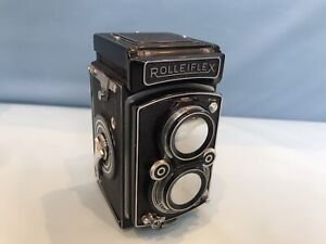 Rolleiflex 6x6, Tessar 1:3,5, grau, funktionstüchtig.