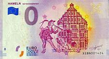 BILLET 0 EURO HAMELN RATTENFANGERSTADT ALLEMAGNE  2019  NUMERO DIVERS