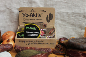 Yo-Aktiv meat starter culture from Bulgaria - a pack of 20 sachets