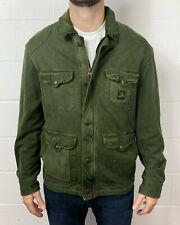 Polo Ralph Lauren Mens New Genuine Military Bomber Jacket in Green