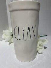 "New Listing☀�New Rae Dunn ""Clean� toilet bowl scrub brush cleaner"