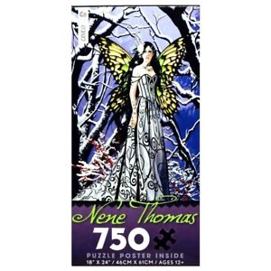 NENE THOMAS HEART OF ICE FANTASY WINGED FAIRY QUEEN CEACO JIGSAW PUZZLE 750 PCS