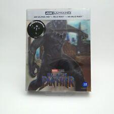Black Panther - 4K & 2D & 3D Blu-ray Steelbook Lenticular Type B1 (2019) / WeET