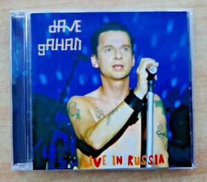 "DAVE GAHAN ""Live In Russia"" (15 track Live CD Recorded St Petersburg 07.06.2003)"