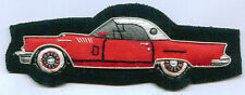 Ford Model Red T Bird Thunderbird Mustang GT Driver Mechanic Sales Team Patch F