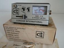 CONSAM CB-002 SWR-POWER METER...................RADIO_TRADER_IRELAND.