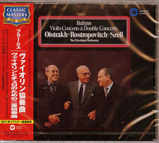 DAVID OISTRAKH-BRAHMS: VIOLIN CONCERTO & DOUBLE CONCERTO-JAPAN CD C68