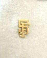 San Francisco SF Giants Gold Plated SF Logo Pin