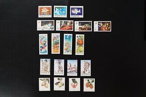 Singapore collection of 5 VF MNH complete sets (k139)