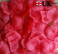 Silk Rose Petals Wedding Party Flower Valentine Honeymoon Bday Fake Rose Petal