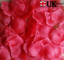 Silk Rose Petals Wedding Party Flower Valentine Honeymoon Bday Fake Rose Petal