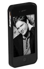 iPhone case mit Aufsteller schwarz iPhone 4 Etui Hülle