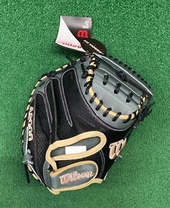 """2021 Wilson A2000 PF33 33"""" Pedroia Fit Baseball Catchers Mitt - WBW10016233"""