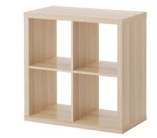 IKEA KALLAX SHELF SHELVING UNIT SHELVES BOOK CASE 4 DIFFERENT COLOURS 77x77cm