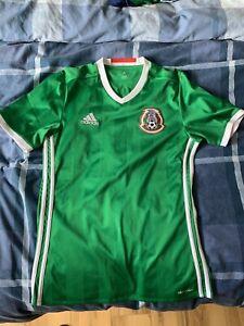 Mexico Home Football Shirt Small Mens