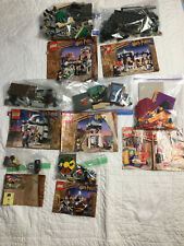 LEGO Harry Potter 7 Retired Year 1 Sets - Some Missing Pieces - See Description
