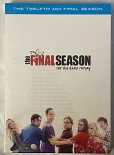 NEW THE BIG BANG THEORY THE COMPLETE TWELFTH & FINAL SEASON DVD + SLIPBOX BUY IT