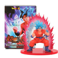 Dragon Ball Z Son Goku Super Saiyan Blue Kaioken PVC Action Figure Model Toy