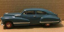 Brooklin 1/43 Scale BRK210 - 1942 Oldsmobile 98 B-44 Sedanette Tunis Blue