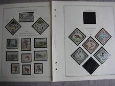 MONACO  Base de collection à compléter, sur feuilles MOC (1960-68)