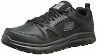 Skechers for Work Mens Flex Advantage Slip Resistant Oxford Sneaker