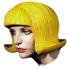 5 Pieces WholeSale Yellow Latex Wigs Headgear Halloween Cross Dress Cosplay
