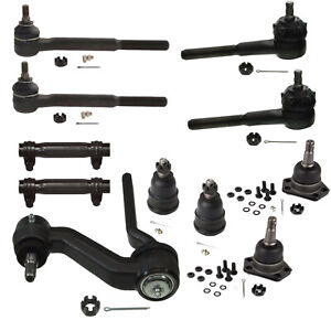 11 PC Kit Tie Rod Ends Idler Arm Ball Joints Camaro Apollo Chevy II Omega 68-72