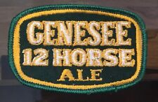 New ListingOld Genesee 12 Horse Ale Beer Rochester Ny Employee Uniform Patch Advertising